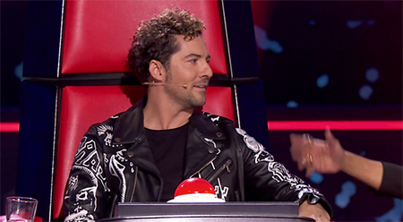 DAVID BISBAL «LA VOZ KIDS II» 2019
