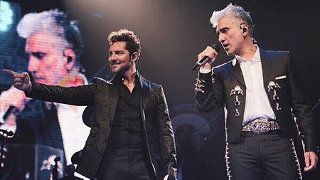 DAVID BISBAL concierto ALEJANDRO FERNANDEZ, MÉXICO 2020