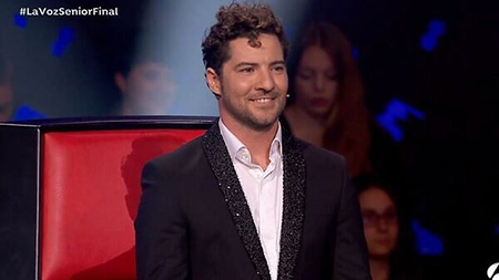 "DAVID BISBAL final ""LA VOZ SENIOR"""