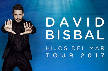 DAVID BISBAL «HIJOS DEL MAR» TOUR 2017
