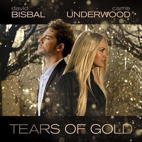 Tears of Gold portada disco artistas David Bisbal y Carrie Underwood